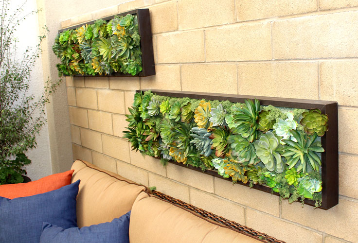 Fantastic Living Walls Plants Adornment - All About Wallart ...
